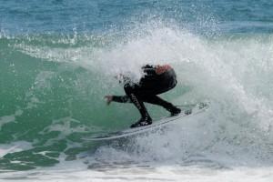 Lo+ visto: Surf y sol en la playa de Llevant de Barcelona