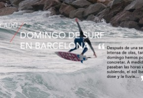 Lo + visto: Domingo de surf en Barcelona