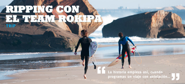 Ripping con el team Rokipa