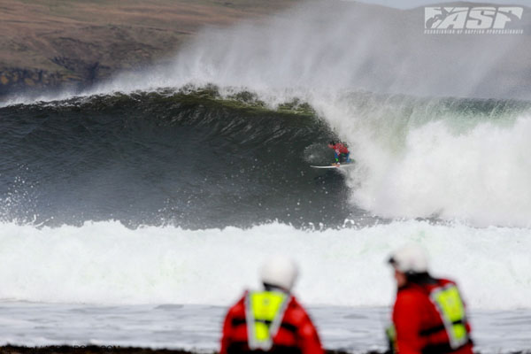 O'Neill Coldwater in Scotland 2011