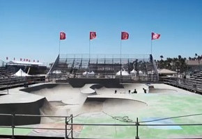 Vans US Open skate bowl
